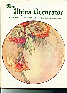 The China Decorator - December 1982