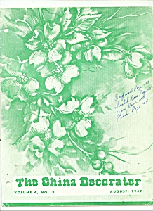 The China Decorator - August 1959