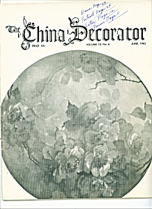 The China Decorator -  June 1965 (Image1)