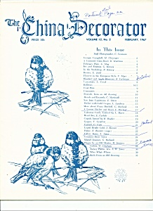 The China Decorator - February 1967