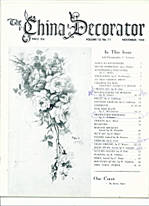 The China Decorator -  November 1968 (Image1)