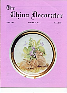 The China Decorator - April 1992