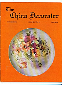 The China Decorator - October 1992 (Image1)