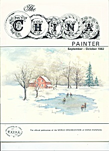 The China Painter Wocp - September-october 1982 -