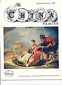 The China Painter- WOCP -  January-February 1988 (Image1)