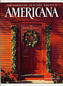 Americana-Americanheritage society - November 1973 (Image1)