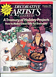 Decorative artist's  workbook - December 1988 (Image1)