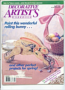 Decorative Artist's workbook - April 1989 (Image1)
