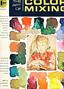 The art of color mixing  magazine- Copyright 1966 (Image1)