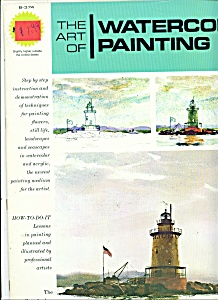 The Art Of Watercolor Painting - Copyright 1975