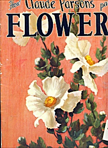 Walter Foster Art books - Claude Parson, flowers - # 75 (Image1)