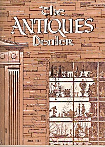 The antiques dealer magazine-   June 1957 (Image1)