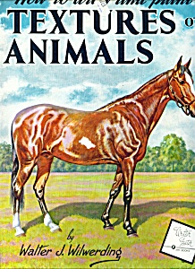 Walter Foster Art Book - Textures Of Animals - #90