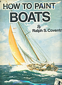 Walter Foster Art Book - How To Paint Boats - # 98