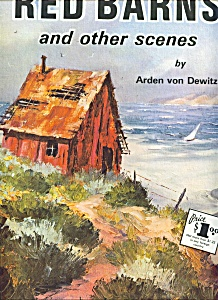 Walter Foster Art Book - Red Barns And Other Scenes -