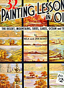 Walter Foster Art Book - Paintiong Lessons In Oil - #11