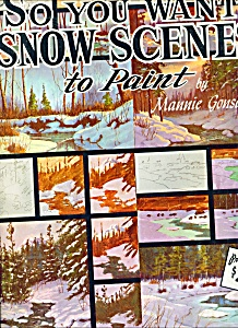 Walter Foster Art Book - Snow Scenes - # 126