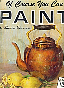 Walter Foster ARt book -  YOU CAN PAINT  - # 156 (Image1)