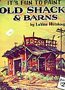 Walter Foster Art book-  OLD SHACKS AND BARNS  # 169 (Image1)