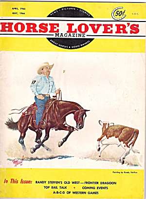 Horse Lovers Magazine April/may 1966