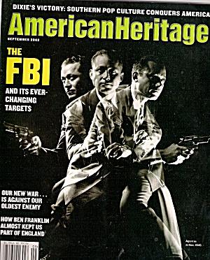 American Heritage -  September 2002 (Image1)