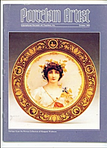 Porcelain Artist magazine- October 1983 (Image1)