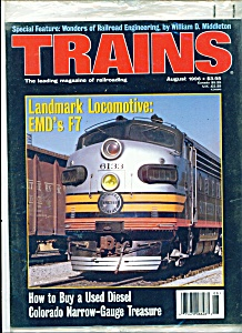 Trains magazine - August 1996 (Image1)
