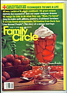Family Circle - August 7, 1978