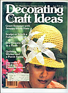 Decorating craft ideas - June 1979 (Image1)