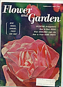 Flower and Garden magazine - February 1967 (Image1)