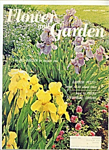 Flower and Garden magazine-  June 1967 (Image1)