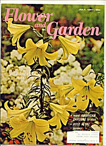 Flower and Garden -  July 1967 (Image1)