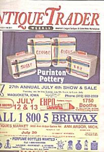 Antique Trader weekily newspaper/magazine - June 25, 19 (Image1)