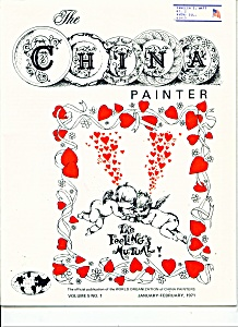 The China Painter magazine -  Jan., Feb. 1971 (Image1)