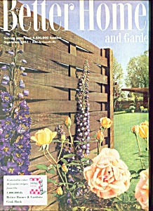 Better Homes and Gardens-  September 1951 (Image1)