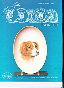 The China Painter magazine -  MarchApril 1986 (Image1)