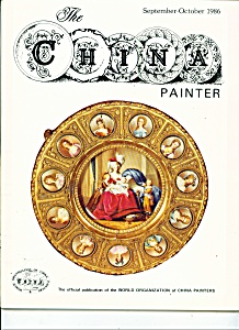 The China Painter - September/October 1986 (Image1)