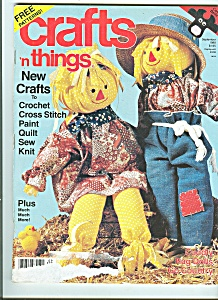 Crafts 'n things magazine -  September 1988 (Image1)