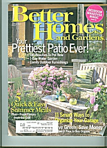 Better Homes And Gardens June 2007
