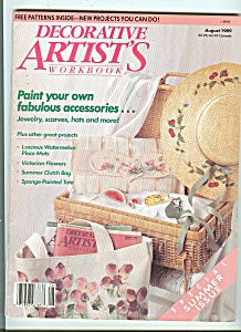 Decorative Artist's workbook - August 1989 (Image1)