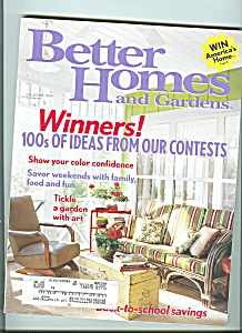 Better Homes and gardens - August 2005 (Image1)