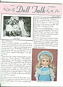 Doll Talk -  March 1987 (Image1)