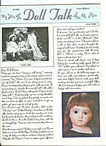 Doll Talk - June 1986 (Image1)