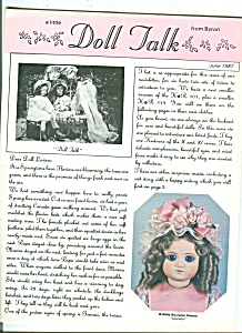 Doll Talk - June 1987