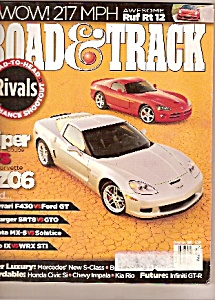 Rock & Track magazine -  december 2005 (Image1)