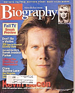 Biography magazine -  September 2002 (Image1)
