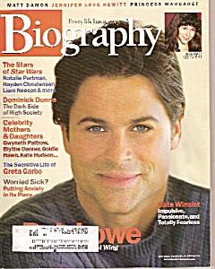 Biography Magazine - May 2002