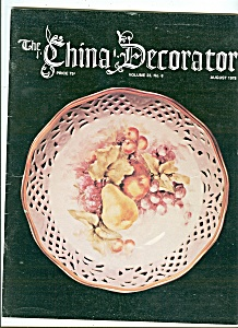 The China Decorator - August 1978