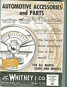 J.,. Whitney & Co. automotive parts catalog - # 154 (Image1)