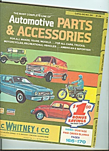 J. . Whitney & Co. automotive parts catalog - No. 351 (Image1)